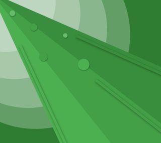 Обои на телефон треугольники, материал, лучи, круги, зеленые, абстрактные, rectangles, green rays