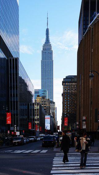 Обои на телефон нью йорк, фото, пейзаж, здания, город
