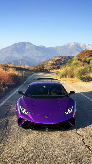 Обои на телефон хуракан, фиолетовые, суперкары, роскошные, машины, ламборгини, зверь, богатые, purple beast, performante, luxury, lamborghini, hypercars