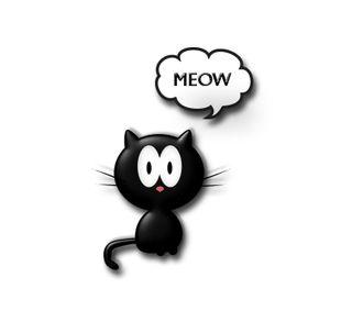 Обои на телефон мягкие, черные, пушистый, питомцы, мяу, мех, малыш, любовь, котята, love, fur baby