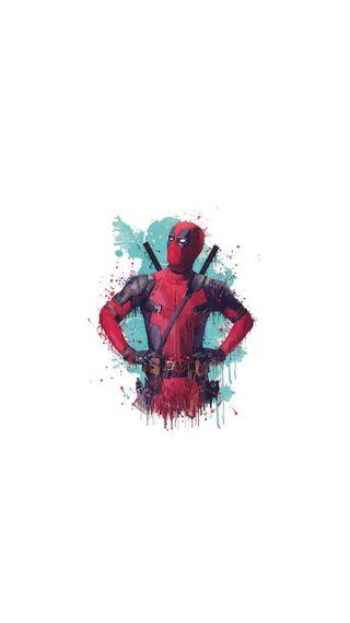Обои на телефон креативные, супер, игрок, дэдпул, герой, герои, deadpool-2