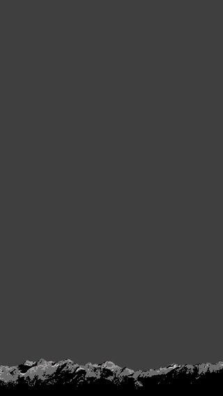 Обои на телефон горы, темные, серые, рендж, дизайн, sim, mountain range