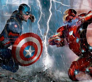 Обои на телефон супергерои, рисунки, мультфильмы, марвел, комиксы, гражданская, голливуд, войны, marvel, dc, civil wars