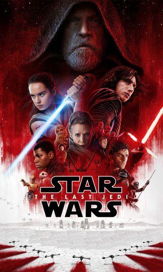 Обои на телефон джедай, свет, сабля, постер, звездные войны, звезда, войны, the last jedi poster, star wars, luke, light saber, liea