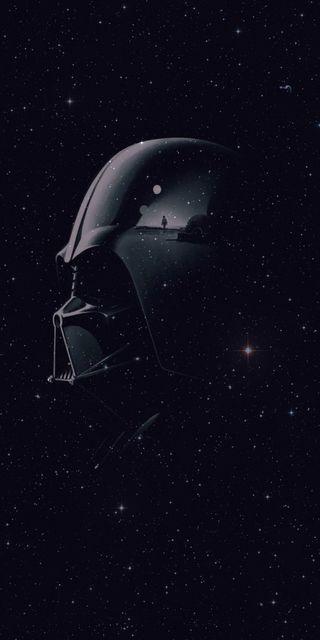 Обои на телефон темные, звездные войны, звезда, дарт, войны, вейдер, бок