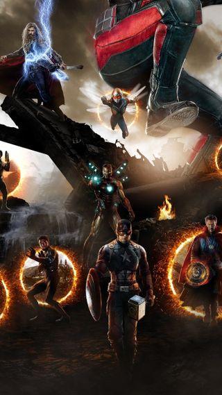 Обои на телефон финал, странный, бесконечность, мстители, марвел, конец, железный человек, доктор, америка, marvel, infinity, antman