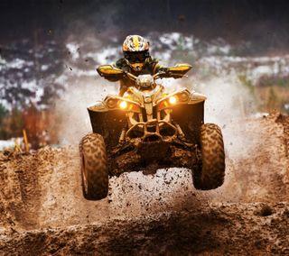 Обои на телефон приключение, спорт, мотокросс, radical, atv motocross
