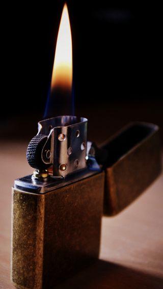 Обои на телефон пламя, огонь, зажигалка, zippo