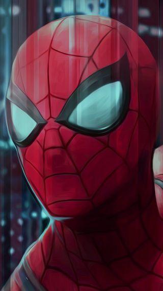Обои на телефон супергерои, человек паук, дом, spiderman home coming