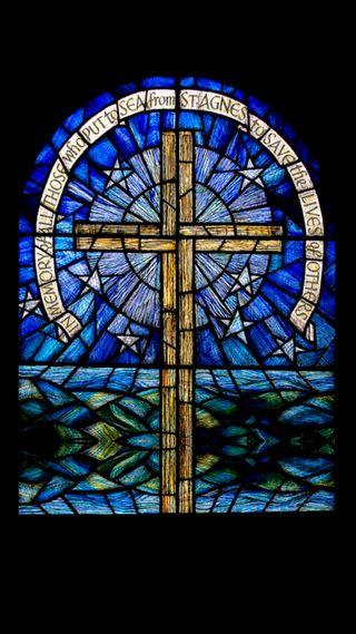 Обои на телефон вера, стекло, религия, окрашенный, крест, faith ver02