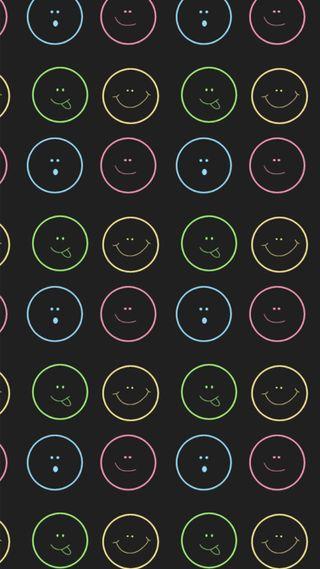 Обои на телефон эмоджи, смех, смайлики, забавные, smiley wallpaper