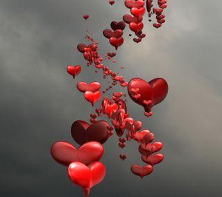 Обои на телефон сердце, крутые, изображение
