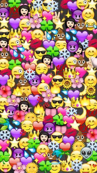 Обои на телефон фотографии, эмоджи, emoji phote, cores