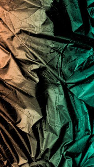 Обои на телефон arty, undercover, wrinkles, абстрактные, крутые, зеленые, металлические