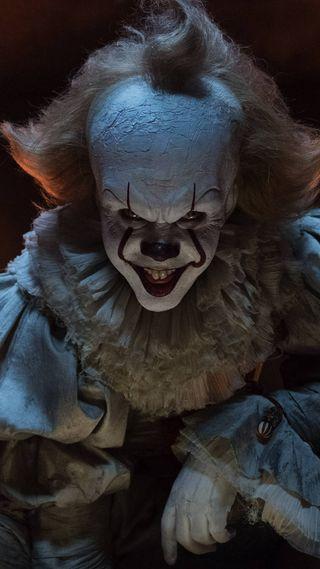 Обои на телефон клоун, фото, ужасы, страшные, clown scary photo