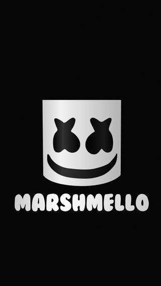 Обои на телефон кролики, экран, черные, музыка, маршмеллоу, диджей, белые, амолед, music wallpaper, marshmellow, marshmello white, marshmello bw, marshmello balck, dj, amoled screen