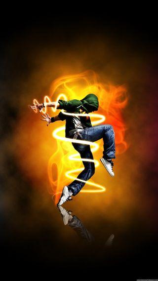 Обои на телефон танец, огонь, good