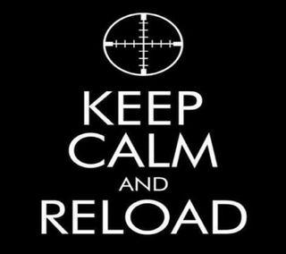 Обои на телефон спокойствие, оружие, reload, keep
