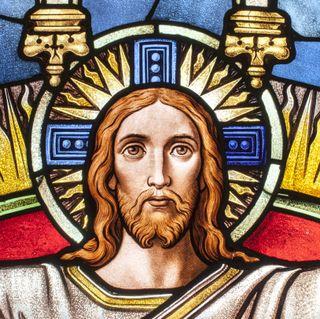 Обои на телефон религия, старые, польша, от, картина, исус, old painting, jesus from torun