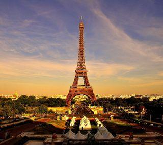 Обои на телефон эйфелева башня, франция, париж