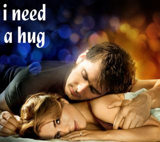 Обои на телефон обнимать, i need a hug, i need, a hug