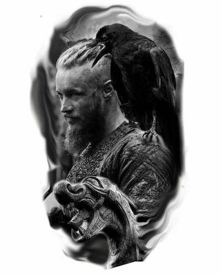 Обои на телефон ragnar lothbrok, викинги, воины, рагнар