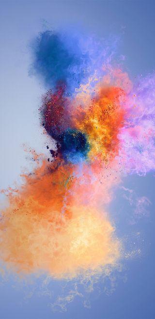 Обои на телефон рисунки, цветные, финал, фантазия, пыль, один, галактика, взрыв, galaxy, explosions, explosion hd