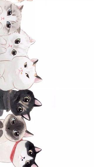 Обои на телефон котята, коты