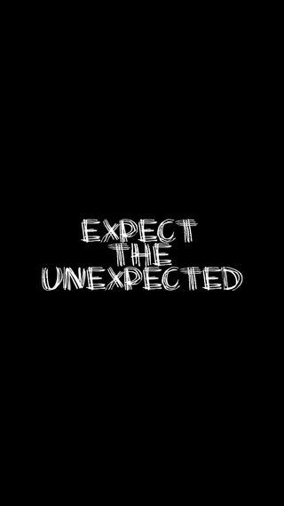 Обои на телефон цитата, высказывания, unexpected, hd, expect, 1080p