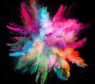 Обои на телефон взрыв, цветные, рисунки, color s