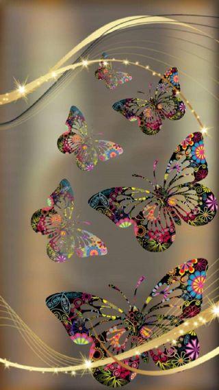Обои на телефон оригинальные, бабочки