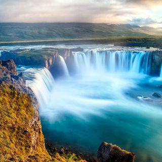 Обои на телефон водопад, река, природа