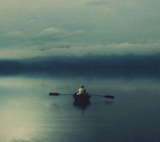 Обои на телефон бег, therhe, canoe running, arhaht