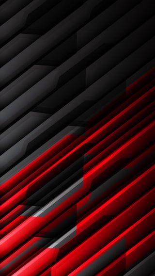 Обои на телефон шаблон, черные, темные, текстуры, линии, красые, дизайн, абстрактные, bicolored, 3д, 3d
