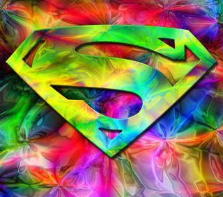 Обои на телефон супермен, герой, красочные, colorful superman