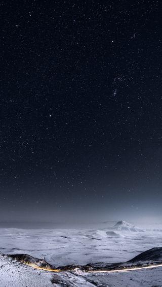 Обои на телефон яркие, грани, ночь, небо, s6, qhd, 2560, 1440x2560, 1440