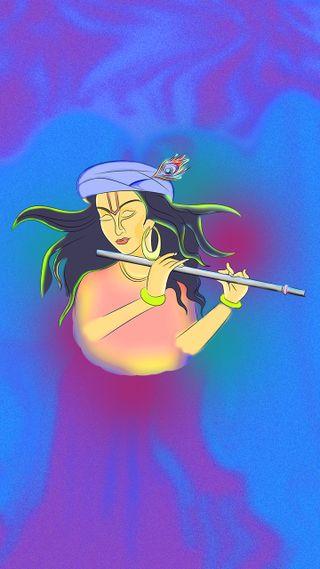 Обои на телефон последние, кришна, бхагван, бог, spirtual, shri krishna, shri krishan, makhanchor, lovegod, kahana