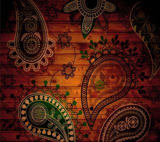 Обои на телефон шаблон, красочные, абстрактные, colorful pattern