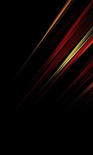Обои на телефон линии, черные, огни, красые, абстрактные