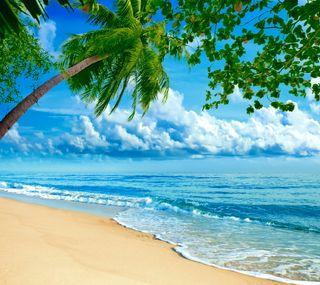 Обои на телефон hd, beautiful beach, крутые, прекрасные, пляж, красота