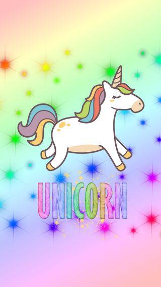 Обои на телефон магия, милые, красочные, единорог, unicornblinkx, blink