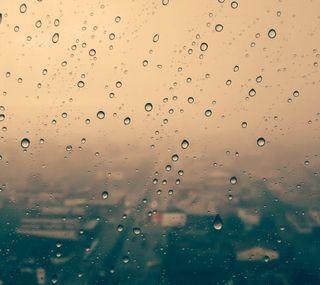 Обои на телефон размытые, капли, дождь, город, бразилия, rainy afternoon