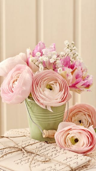 Обои на телефон винтаж, цветы, романтика, розы, розовые, любовь, love