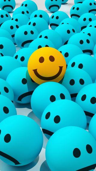 Обои на телефон смайлы, эмоджи, счастливые, смайлики, путь, лица, красота, way to find smile, happy
