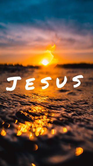 Обои на телефон бог, фразы, исус, palavra, luz, gospel