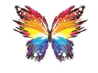 Обои на телефон узоры, красочные, бабочки, абстрактные