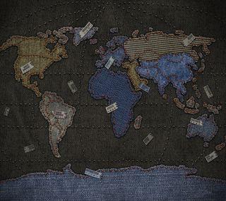 Обои на телефон ткани, карта, мир, джинсы, textile, denim, cloth, chart
