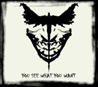 Обои на телефон иллюзии, фильмы, темные, рисунки, психопат, джокер, бэтмен, joker or batman