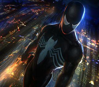 Обои на телефон веном, человек паук, марвел, комиксы, marvel