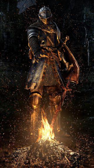 Обои на телефон история, рыцарь, огонь, война, воин